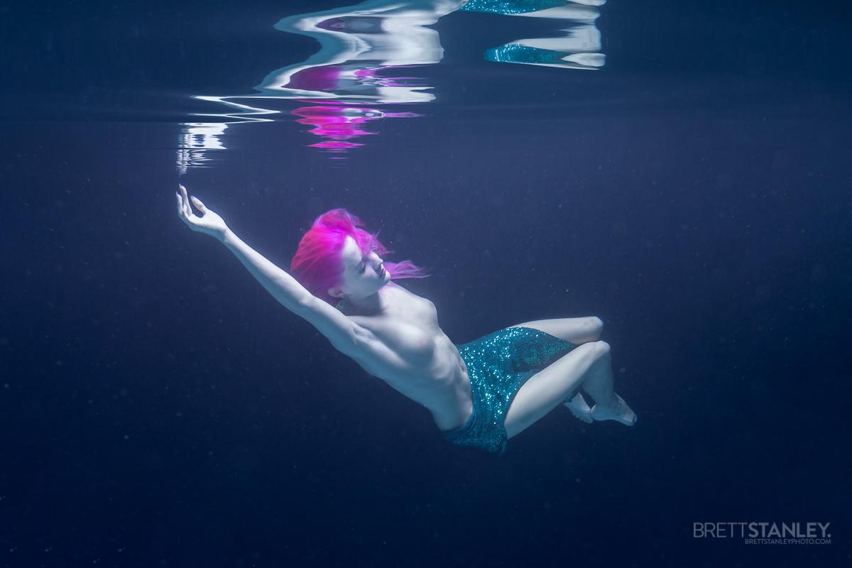 Auckland New Zealand Underwater Glamour Photoshoot